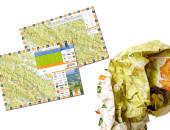 Niezniszczalna mapa Bieszczadów z rzeźnickimi biegami